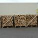 Łupane drewno opałowe